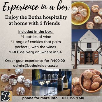 EXPERIENCE IN A BOX (R400.00)